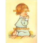 Boy At Prayer  - #XBPO968  -  PRINT