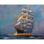 1.  Sailing Ship  - #XBSC995  -  PRINT