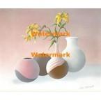 Yellow Lilies  - #XBSL579  -  PRINT
