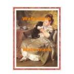 Milk For The Kitten  - #XBV0084  -  PRINT