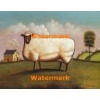 Country Sheep  - #XBAN1242  -  PRINT