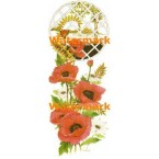 Flowers At Window  - #XBFL1178  -  PRINT