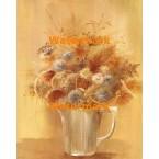 Flowers In Cup  - #XBFL1333  -  PRINT