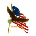 American Eagle  - #XKF1279  -  PRINT