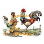 Chicken Family  - XKL1117  -  PRINT
