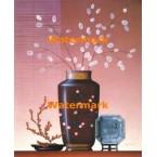 Vase With Silver Dollars  - #XKL1534  -  PRINT