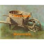 Antique Wheelbarrow  - #XBSC1291  -  PRINT