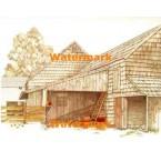 The Barn  - #XBSC1342  -  PRINT