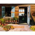 Garden Shop  - #XBSC1552  -  PRINT