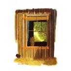 Country Window  - #XBSC1611  -  PRINT