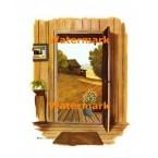 Country Door  - #XBSC1612  -  PRINT