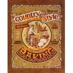 Country Style Baking  - #XD10134  -  PRINT