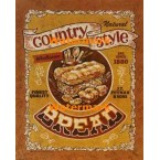 Country Style Bread  - #XD10135  -  PRINT