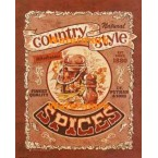 Country Style Spices  - #XD10136  -  PRINT