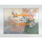 Peonies, Blossoms, & Birds  - #XKVH5324  -  PRINT