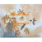 Humming Birds  - #XKH5451  -  PRINT
