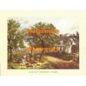 American Homestead Autumn  - #XKVH1086  -  PRINT
