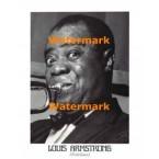Louis Artmstrong  -  #XAR2712  -  PRINT