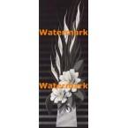 White Flowers  - #XBPP2236  -  PRINT