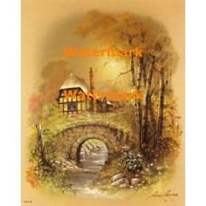 Stone Bridge  -  #XBSC2964  -  PRINT