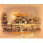 Barn  - #XBSC2976  -  PRINT