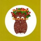 Decorative Owl - #XS2121  -  PRINT