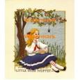 Little Miss Muffet  - #XD8030  -  PRINT