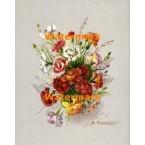 Carnations  -  #XD3446  -  PRINT