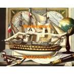 Captain's Model  - #XD3487  -  PRINT