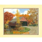 Covered Bridge  -  #XKFL3606  -  PRINT