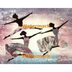 Dancers In Motion III  -  #XKL3900  -  PRINT