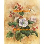 Oriental Hibiscus  - #XKL3124  -  PRINT