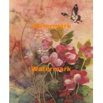 Oriental Hibiscus  - #XKL3328  -  PRINT
