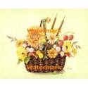Autumn Flowers II  - #XM4205  -  PRINT