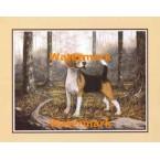 Beagle  - #XKFL4736  -  PRINT