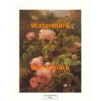 Still Life of Pink Roses  - #XAR4920  -  PRINT