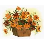 Flowers In Basket  - XBFL1046  -  PRINT