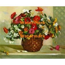 Anemones & Poppies  - XBFL1143  -  PRINT