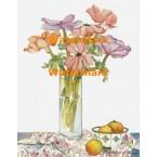 Flowers in Jar  - XBFL2162  -  PRINT