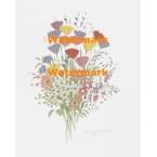Delicate Flowers  - XBFL2224  -  PRINT
