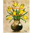 Gold Emperor Tulips  - XKA5455  -  PRINT