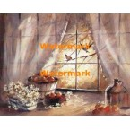 Autumn Window  - XS8573  -  PRINT