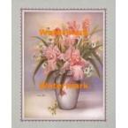 Iris And Daisies  - #XKFL5644  -  PRINT