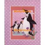 Polkadot Penguins  - #XD50022  -  PRINT