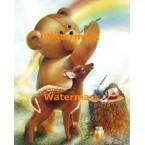 Painting A Rainbow  - #XD50688  -  PRINT