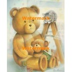 Storybook Teddy  - #XD50691  -  PRINT