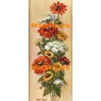 Autumn Florals  - #XD51321  -  PRINT