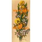 Autumn Florals  - #XD51323  -  PRINT