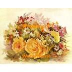 1.  Floral Concerto  - #XKL6103  -  PRINT