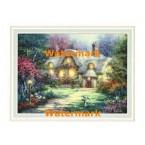 Garden Cottage  - #XAR6753  -  PRINT